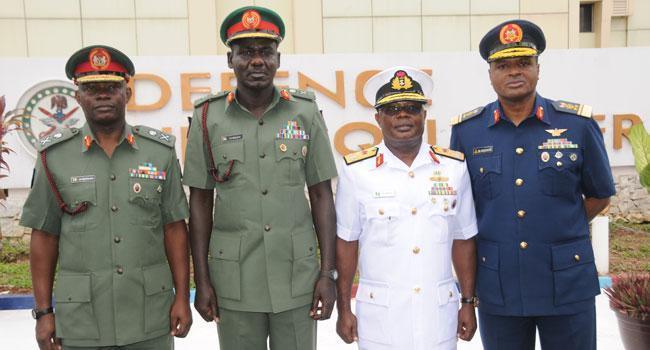 Axe dangles on Service Chiefs as Gbajabiamila set report them to Buhari