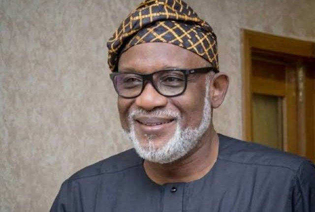 Our relationship with Governor Rotimi Akeredolu