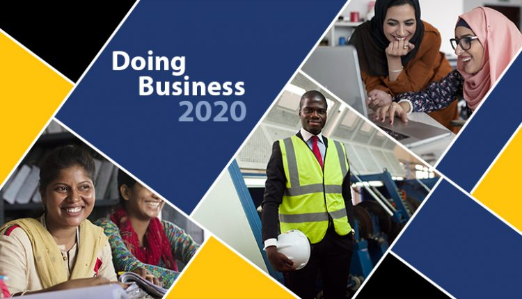 World Bank's Ease of Doing Business rankings