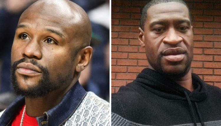Floyd Mayweather offers to pay for George Floyd's funeral expenses