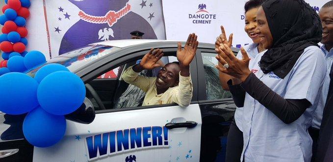 80 Nigerians become millionaires in Dangote Cement promo