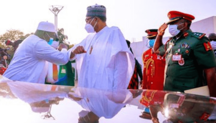 """Buhari to Gambia President: """"We Must respect our people""""."""