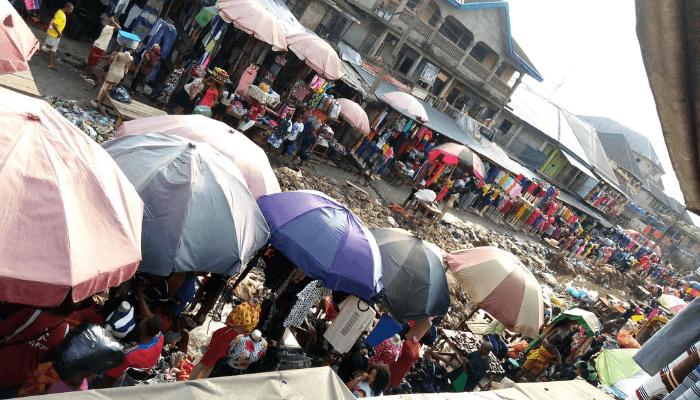 a market
