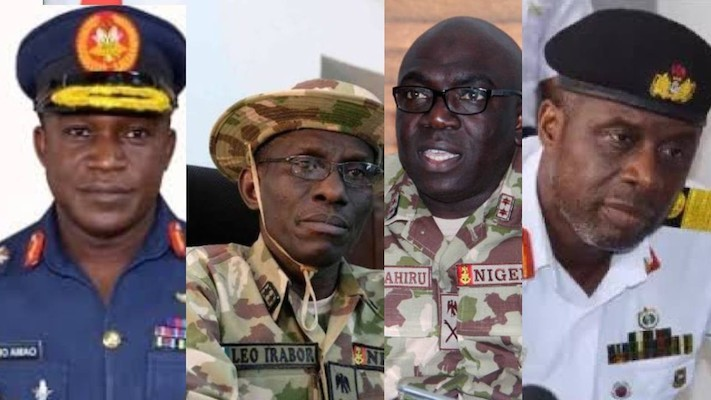 Revamping Nigeria's economy: Service chiefs to the rescue
