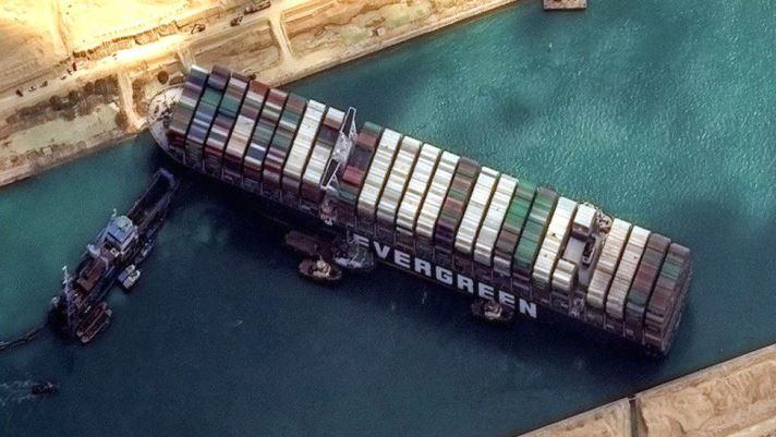Insurers fret over Suez Canal blockage