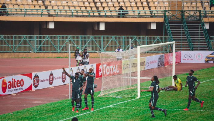 Super Eagles round off 2021 AFCON race in style - Businessday NG