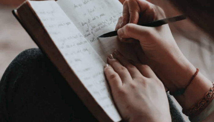 a notebook, five things