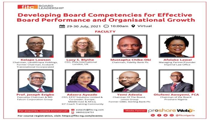 FITC to enhance boardroom competencies via virtual programme