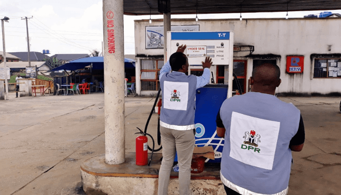 DPR seals 7 filling stations for various offences in Nasarawa