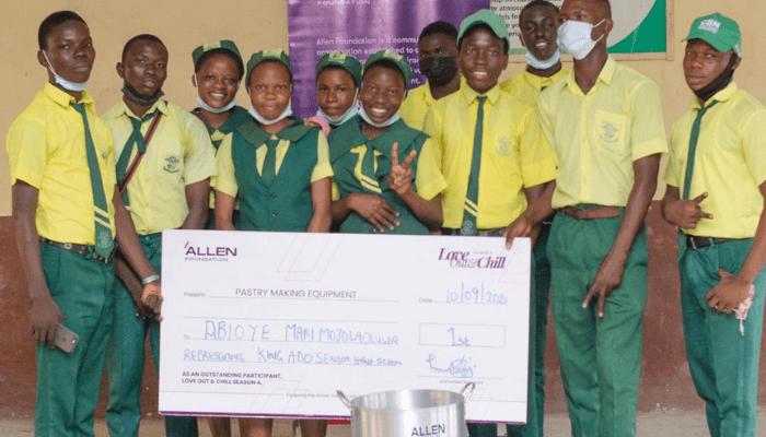 Allen Foundation trains students on entrepreneurship development