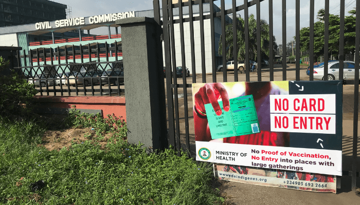 Edo restrict access to government offices for unvaccinated workers