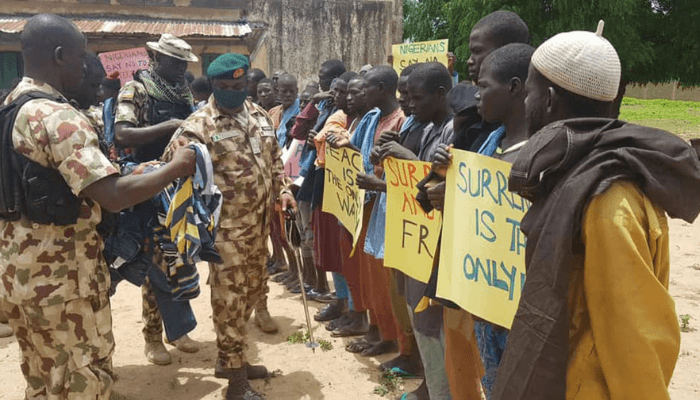 Over 13,200 Boko Haram terrorists surrender in Northeast – Army