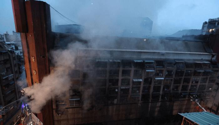 Taiwan building fire leaves 46 dead, dozens hurt